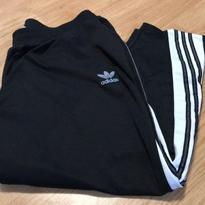 Adidas Men's athletic pants size 2XL black/white